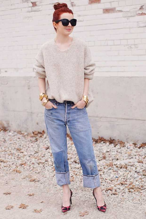 18 Stylish Ways to Wear Baggy Jeans