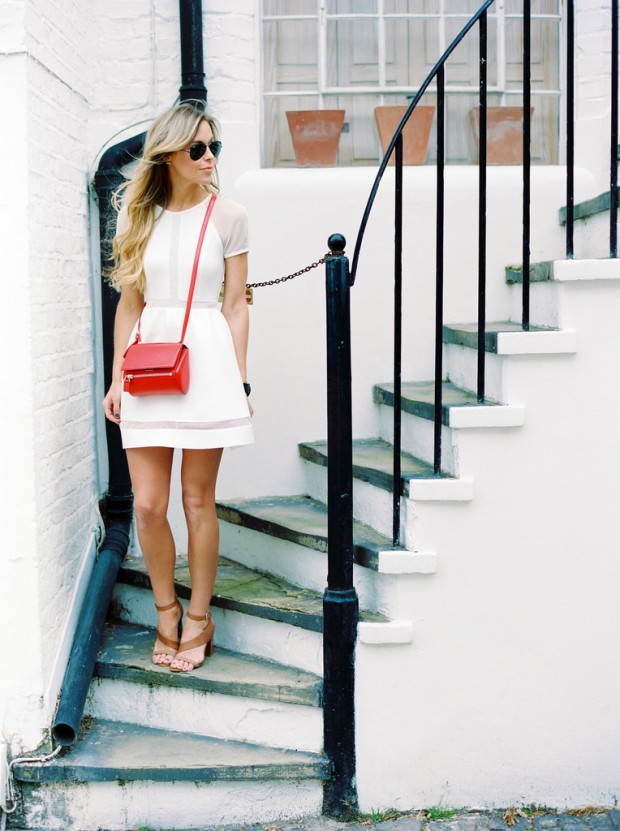 Crisp and Fresh 15 White Summer Dress Outfit Ideas