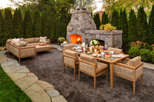 16 cozy outdoor spaces with sofas - style motivation
