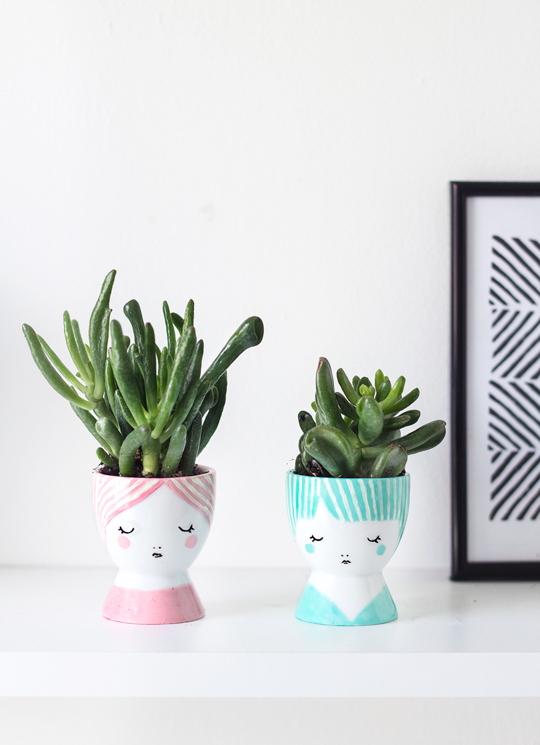 18 DIY Projects for Unique Pots and Planters