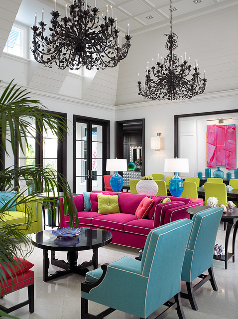 20 Ways to Decorate Your Home With Neon Colors