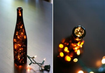 17 Creative Wine Bottle Projects - Wine Bottles, wine bottle, wine, Upcycle and Repurpose Wine Bottles, Projects, project, diy, crafts, craft, bottles, bottle