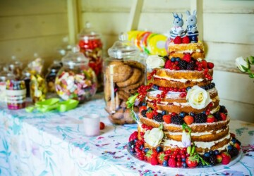 15 Gorgeous Wedding Cake Ideas Inspired by The Summer - Wedding Cake, summer wedding cake, summer wedding