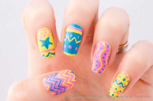Colorful Nail Designs in 17 Creative Ideas