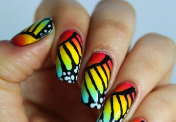 Colorful Nail Designs in 17 Creative Ideas - summer nail art, spring nail art, nail design, nail art ideas, colorful nail art, Colorful