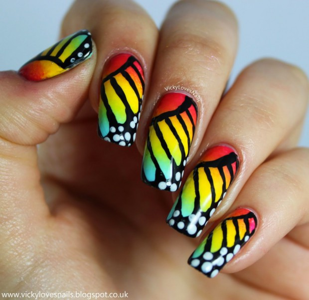 Colorful Nail Designs in 17 Creative Ideas - Colorful Nail Designs In 17 Creative Ideas - Style Motivation