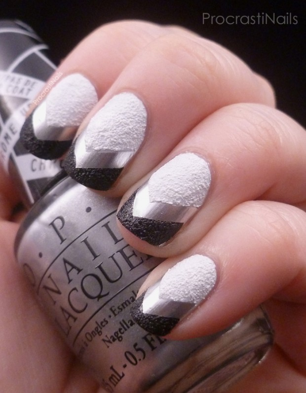 Monochrome nail art ideas 17 simple and creative nail designs style