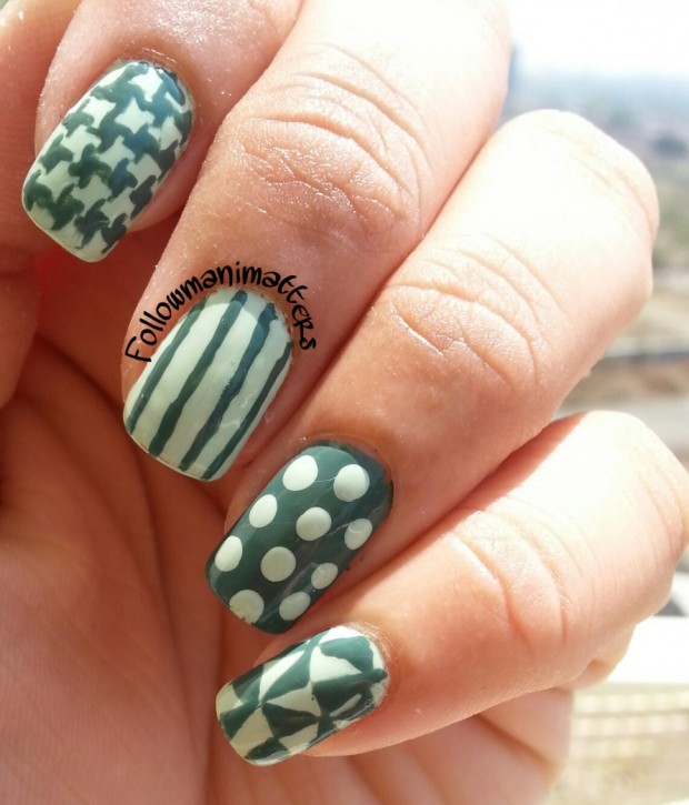 Monochrome Nail Art Ideas: 17 Simple and Creative Nail Designs