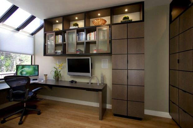 18 Contemporary Home Office Design Ideas that Will Increase Your Productivity for Sure