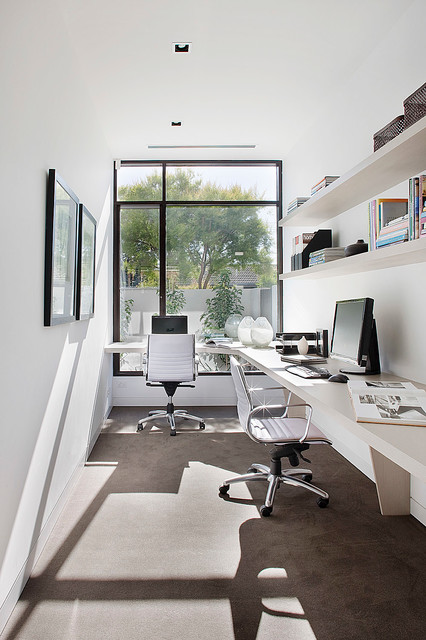 18 Contemporary Home Office Design Ideas That Will Increase Your
