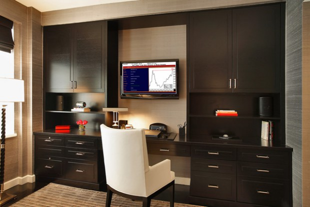 18 Contemporary Home Office Design Ideas That Will Increase Your Productivity