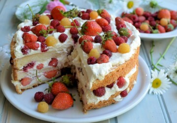 15 Delicious and Easy Summer Fruit Cake Recipes - summer recipes, summer fruit cakes, summer desserts, summer cake recipes, fruit cakes, dessert recipes, cake recipes