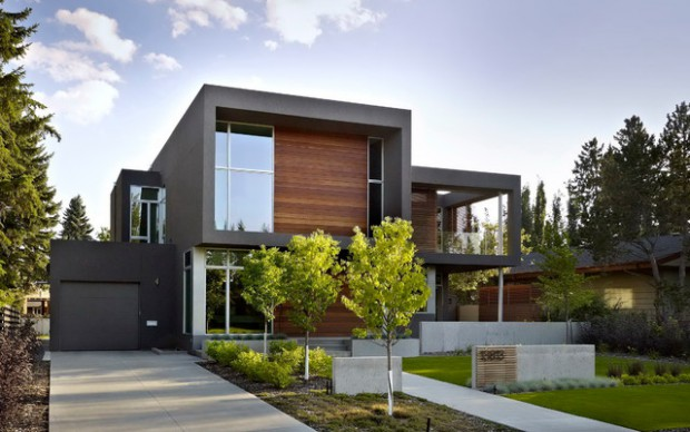 18 Modern Exterior Design Ideas with Stunning Outdoor Space