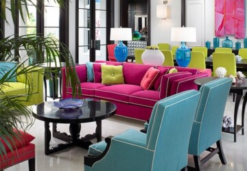 20 Ways to Decorate Your Home With Neon Colors - neon decorating ideas, neon decor, Neon colors, neon color, Neon, home decor, home, decorating ideas, decorating