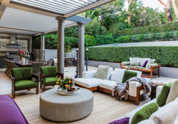 20 Stunning Ways You Can Update Your Outdoor Space - outdoor space, outdoor room, outdoor living room, outdoor living, outdoor dining room, outdoor design