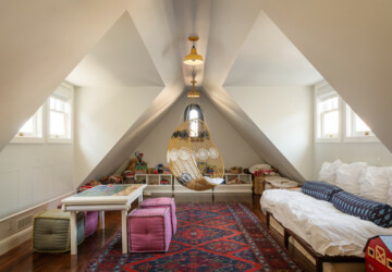 20 Creative Ways to Transform your Attic in a Kids Bedroom - kids bedroom design, kids bedroom, attic space, attic kids bedrooms, attic bedroom, attic