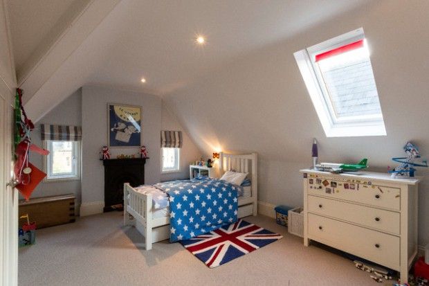 20 Creative Ways to Transform your Attic in a Kids Bedroom