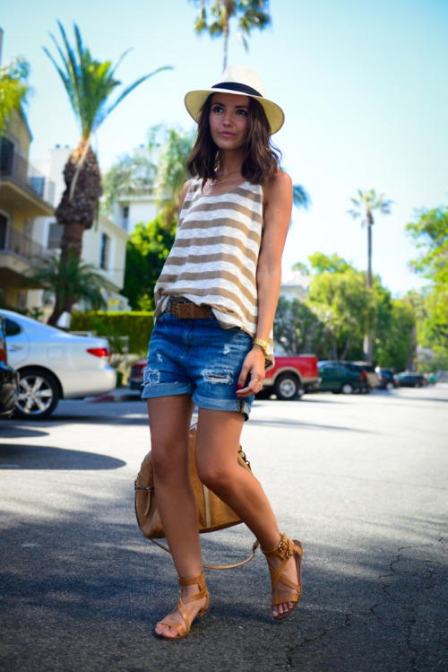 19 Stylish and Comfortable Shorts Outfit Ideas for Summer