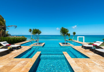 On the Edge: 21 Stunning Infinity Pool Designs - pool, outdoors, outdoor, infinity pool design, infinity pool, infinity