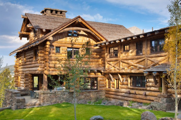 Ultimate Get Away: 18 Dreamy Log Houses