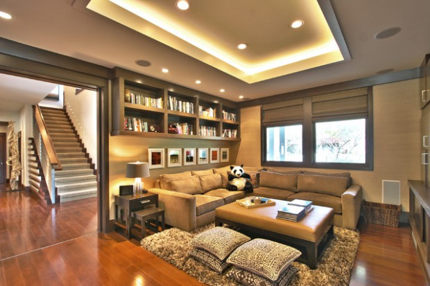 Creative And Practical 16 Living Room Decorating Ideas With Floor Cushions