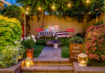 19 Romantic Outdoor Lightening Ideas - romantic lightening, romantic light, romantic, outdoors, outdoor lightening ideas, outdoor lightening idea, outdoor light, outdoor ideas, outdoor idea, outdoor