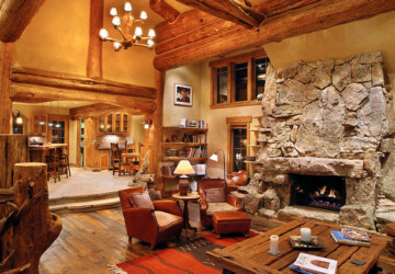 21 Rustic Log Cabin Interior Design Ideas - rustic, log interior decor, log houses, log house, log home, log cabin, log, interior, home decor, home, decor