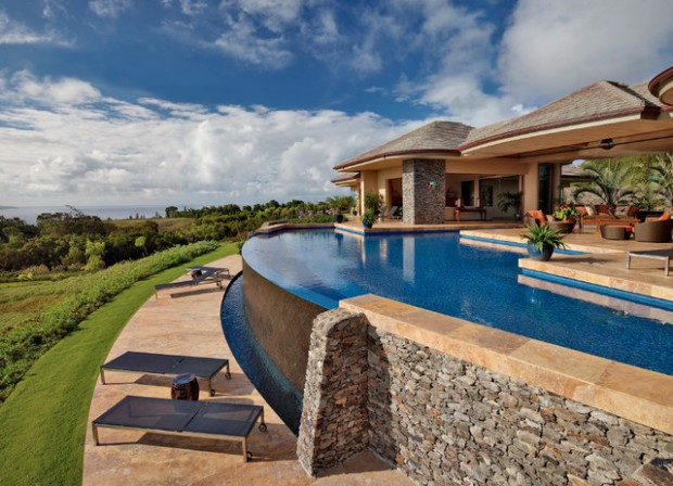 On the edge 21 stunning infinity pool designs style for Pool edges design