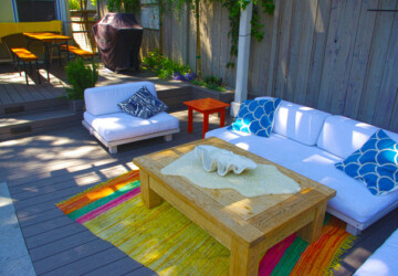 Create Colorful Outdoor Spaces: 15 Decorating Ideas - outdoors, outdoor, decorating ideas, decor, colorful outdoors, colorful outdoor, Colorful, color
