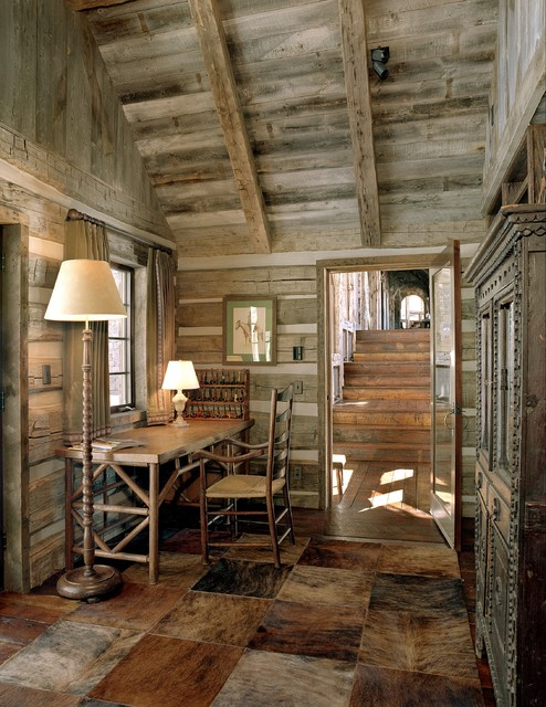 21 Rustic Log Cabin Interior Design Ideas Part 21