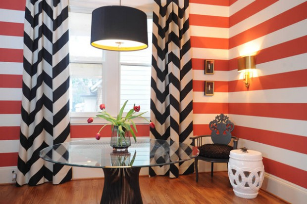 Add A Playful Edge In Your Home: 21 Striped Decorating Ideas