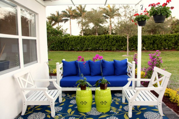 Create Colorful Outdoor Spaces: 15 Decorating Ideas