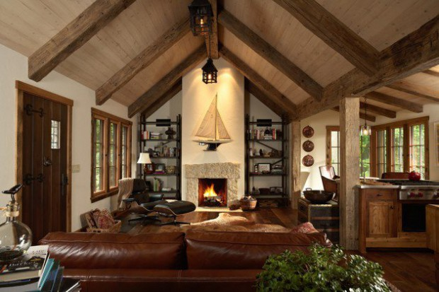 Good-Interior-Design-and-15-Rustic-Living-Room-Designs-2015-Warm-Cozy-Winter-Wooden-Home-Home-Fireplace-Design-20151