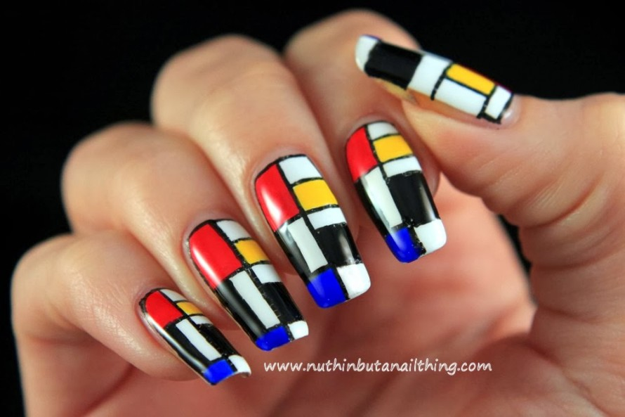 Abstract Nail Art Ideas 20 Creative And Unique Nail
