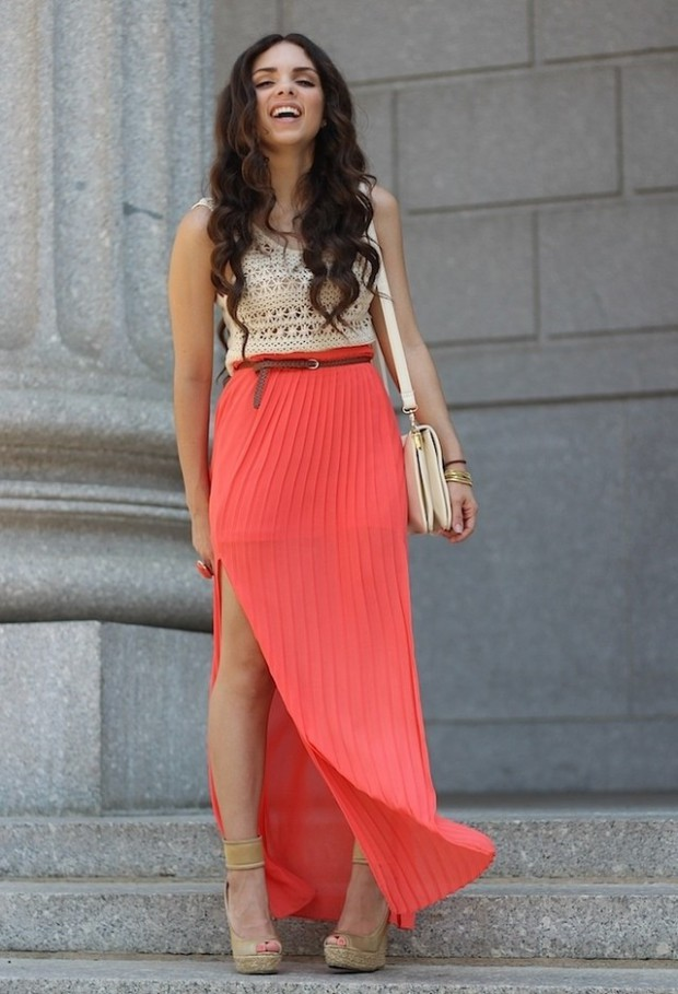 18 Ways to Style Your Maxi Skirts this Summer