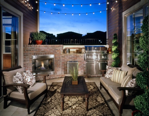 20 Great Barbecue Patio Design Ideas for Perfect Summer