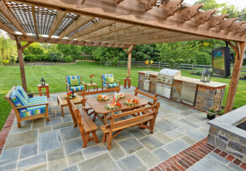 20 Great Barbecue Patio Design Ideas for Perfect Summer - outdoor barbecue, barbecue patio, barbecue, backyard barbecue