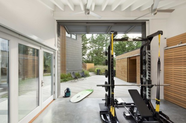17 Amazing Outdoor Gym Design Ideas