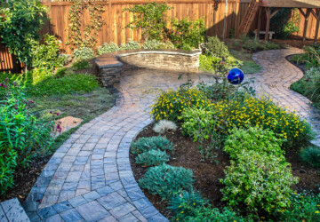 Abandoning the Lawn Mower and Entering the Stone Age - pavern, patio, garden