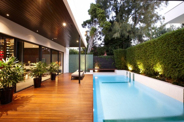 17 Impressive Modern Pool Deck Design Ideas - Style Motivation
