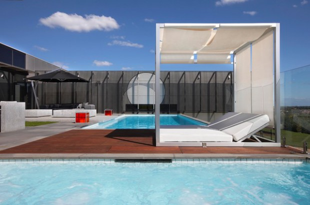 17 Impressive Modern Pool Deck Design Ideas