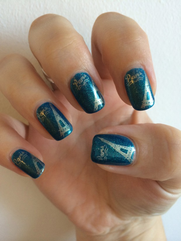 Amazing Nail Art Ideas Inspired by Europe