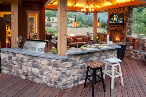 creative outdoor bars 17 amazing deck design ideas - Home Deck Design