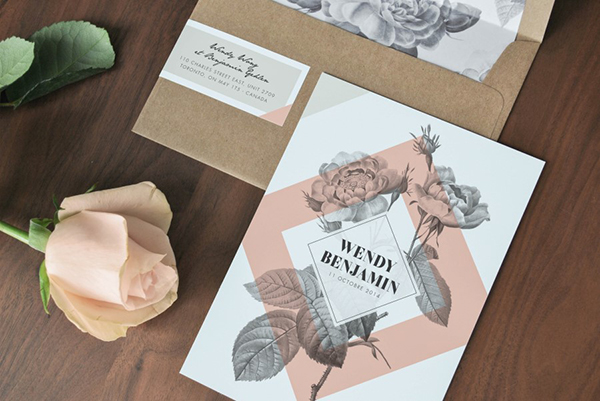 15 Beautiful Wedding Invitations You Can Make Yourself
