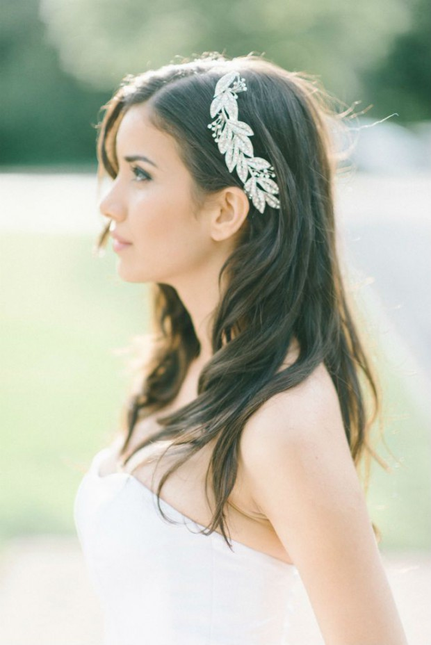 15 Amazing Hairstyle Ideas for Romantic Bridal Look