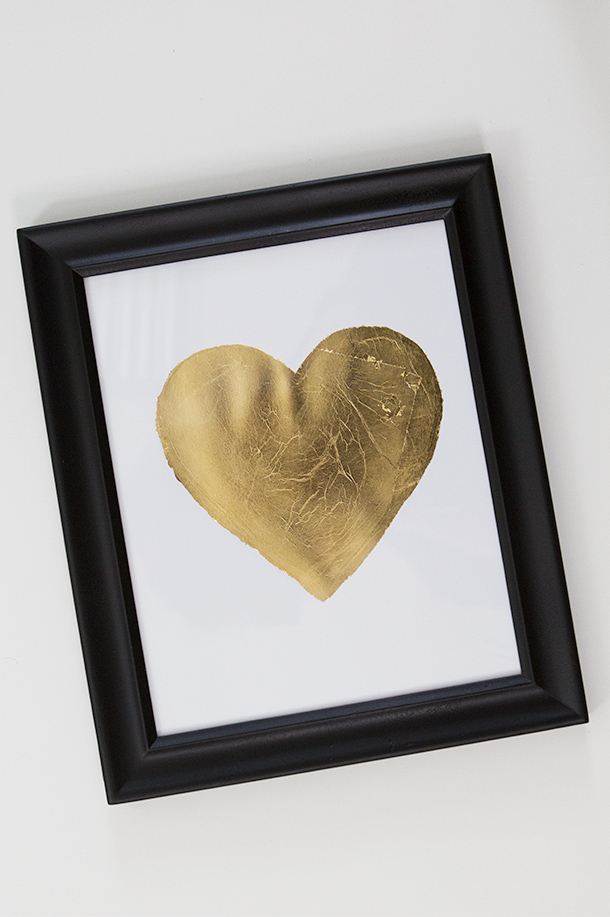 Go For The Gold: 16 Chic Gold Leaf Projects