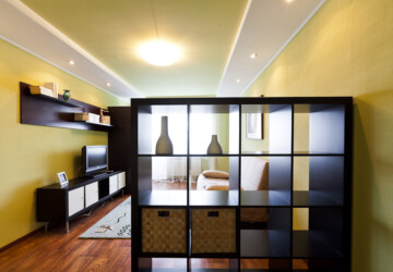 Maximizing Space in Your Loft Style Apartment - storage furniture, Space, shelving, apartment