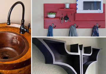 16 Amazing DIY Projects For Your Home You Can Make From These Ideas - wood, Storage, shelves, shelf, rustic, recycled, reclaimed, rack, pallet, Organization, mail, key, industrial, house, Homemade, home, handmade, handcrafted, diy, desk, decoration, decor, craft, coat