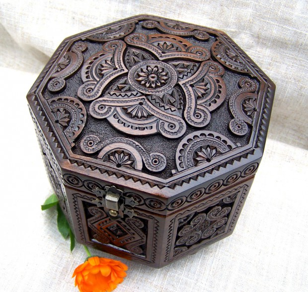 16 Unique Handmade Jewelry Box Designs For Elegant Jewelry Storage And Display