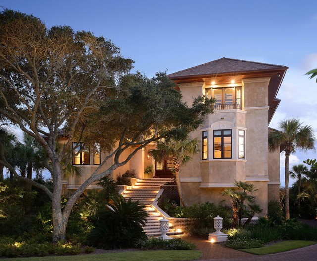18 extremely luxury mediterranean home designs that will for Luxury tuscan homes